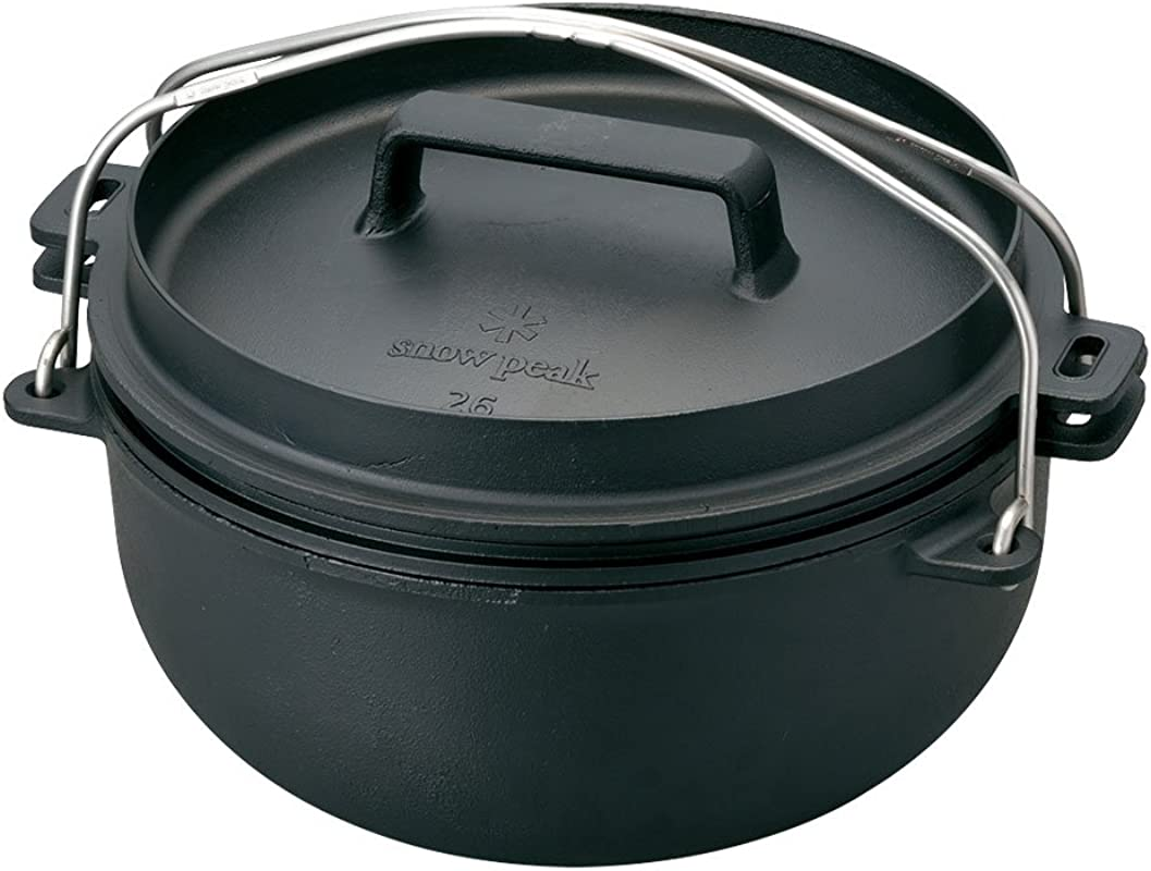 Snow Peak Japanese Dutch Oven 26cm