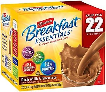 22-Count Carnation Breakfast Essentials Milk Chocolate, 1.26 oz
