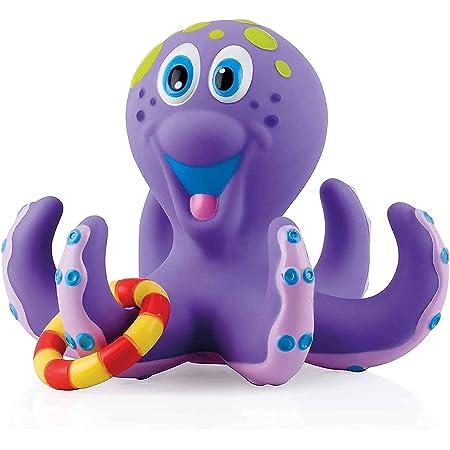 Nûby Floating Octopus Jouet de Bain Pieuvre Flottante Violet 18 Mois