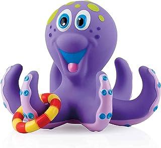 Nuby ID6144AN Kinderspeelgoed, Drijvende Octopus Met 3 Ringen, Octopus En Ringen Drijven Op Het Water, Voor Kinderen Vanaf...