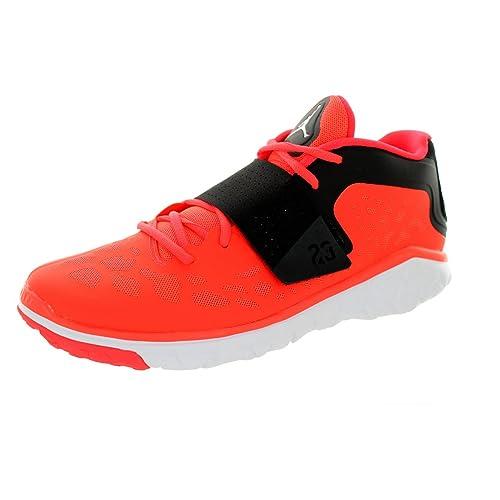 new concept bfdd5 a5e0c Jordan Nike Flight Flex - Zapatillas de Entrenamiento para Hombre, Rojo  (Negro, Blanco