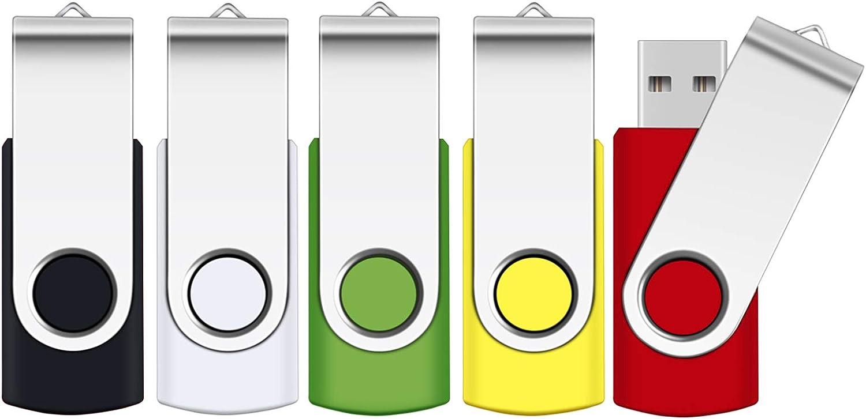 Gorgeous SRVR 5 Pack 64GB USB Flash 2.0 Thumb Drive Free shipping on posting reviews Jump Dr Drives