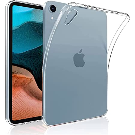 iPad mini6 ケース 耐久性 超軽量 薄型 耐衝撃【YML】 クリア ソフト シリコン TPU超薄型ケース 全面保護カバー ipad mini 6世代 ケース 8.3 インチ用 ipad mini6 ケース 2021 (クリア)