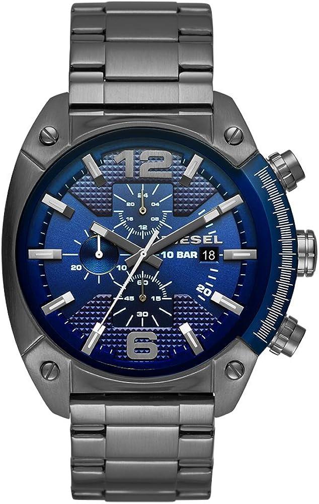 Diesel orologio cronografo da uomo in acciaio inossidabile DZ4412