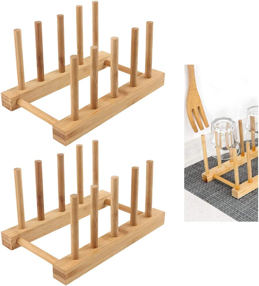Bamboo Ranking TOP4 Dish Drying Holder Rack Vertical Drainboard Plate latest Dishes