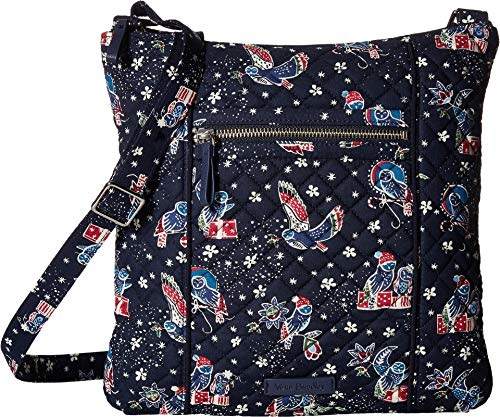 Vera Bradley Iconic Hipster Holiday Owls One Size