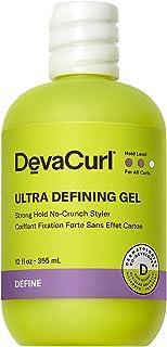 DevaCurl Ultra Defining Gel Strong Hold No-Crunch Styler, Bright Breeze, 12 fl. oz.