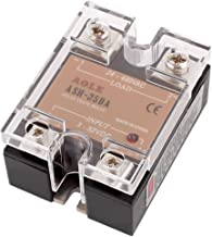 uxcell ASH-25DA 3-32VDC to 480VAC 25A Single Phase Solid State DC to AC Relay Authorized
