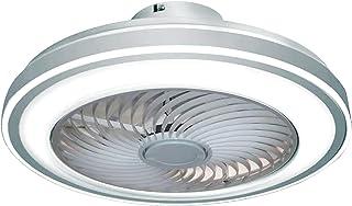 BEL AIR HOME - Ventilateur plafonnier LED série VINCI 3000K-4000K-6500K avec télécommande et contrôle à traverses d'App (P...