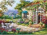 HAHJ Puzzles Rompecabezas Rompecabezas para Adultos - Rompecabezas de jardín de sueños Juego de desafío de Inteligencia para niños y Adultos, 520 Piezas