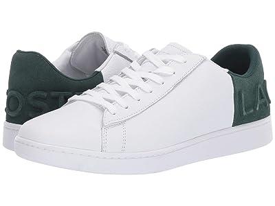 Lacoste Carnaby Evo 419 2 (White/Dark Green) Men