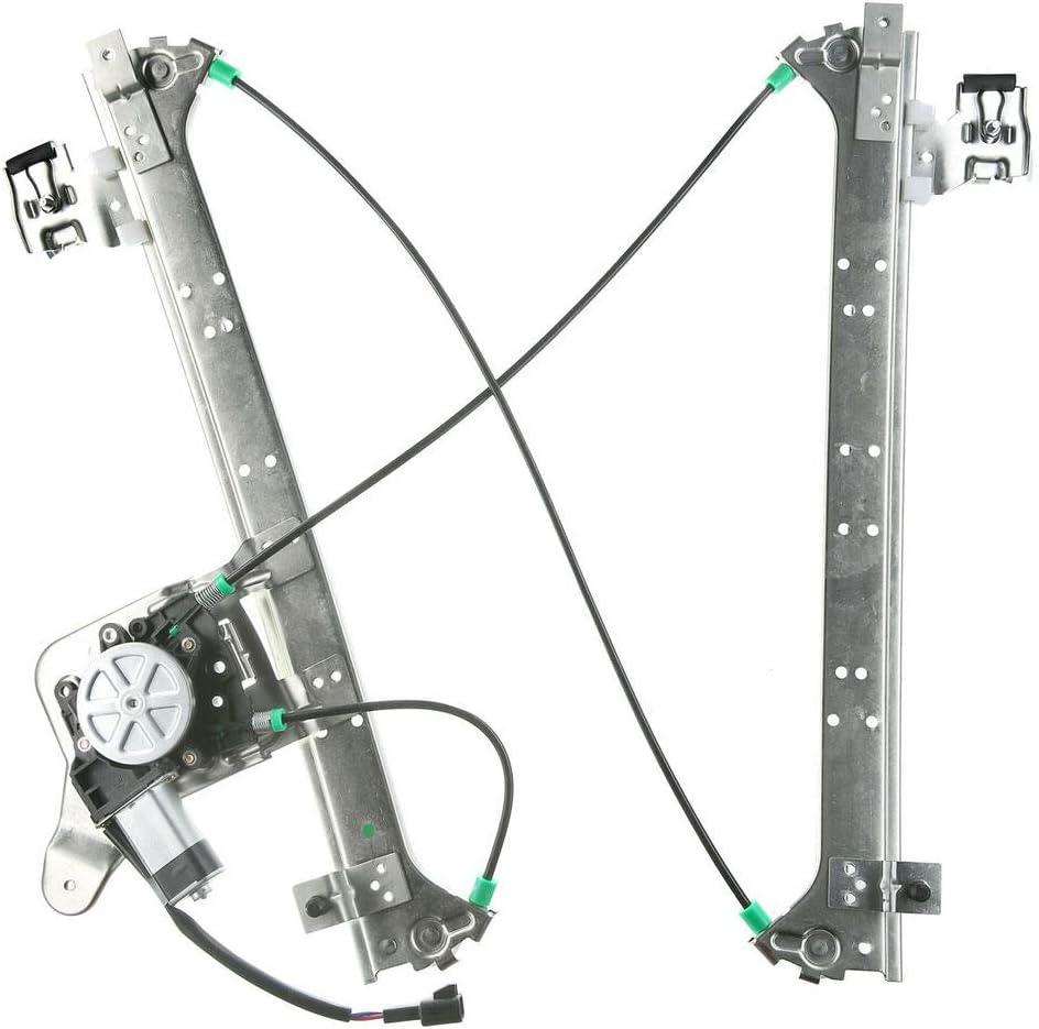 SCKJ Sale item 1pc Rear Right Side Regulator w Window Max 84% OFF Motor 79