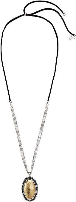 Pave Pendant Necklace