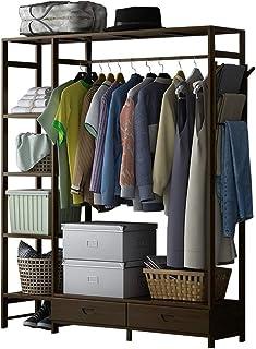 JJZXT Pliant Dustp RoofFolding Closet Armoire Chambre Meubles Vêtements Rangement Vêtements Cabinet Organisateur
