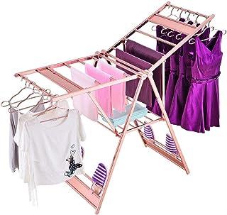 Étendoir à linge pliant Sécheuse à vêtements compacte for séchoir de buanderie et de cuisine avec beaucoup d'espace for la...
