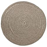 Hand Woven Round Area Rugs Living Room Bedroom Study...