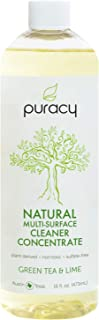 Puracy Natural All Purpose Cleaner Concentrate (Makes 1 Gallon), Streak-Free Surfaces, 16 Ounce