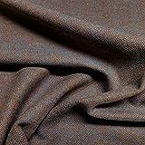 Der Stoffdealer • Fischgrat Streichgarn aus reiner Wolle