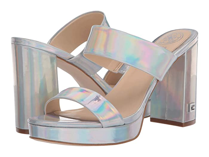 70s Shoes, Platforms, Boots, Heels GUESS Blubell Silver Womens Shoes $41.23 AT vintagedancer.com