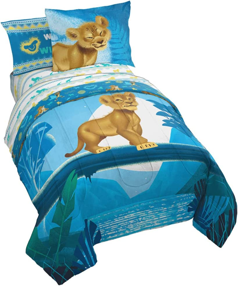 Jay Max 73% OFF Franco Disney Lion King Bed Very popular Side Wild Full Set