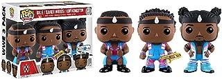 Funko Big E, Xavier Woods, Kofi Kingston (Toys R Us Exclusive) POP! WWE x WWE Vinyl Figure + 1 Free Official WWE Trading Card Bundle (11541)