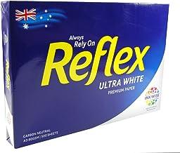 Copy Paper Reflex Ultra White 80gsm A3 Copy Paper 500 Sheet Ream Pack, (35070)