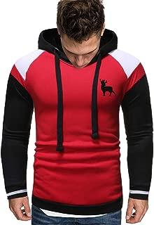 Men's Long Sleeve Autumn Winter Casual Sweatshirt Top Blouse Tracksuits V10154