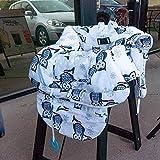 JIAMING Bebé Compras Cubierta for bebés y niños pequeños - 2-en-1 Carro de Cubierta de la Silla, Lavable a máquina
