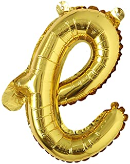 """Details about  /Balloon number alphabet letter figure birthday wedding party gold//silver 17//18/"""" show original title"""