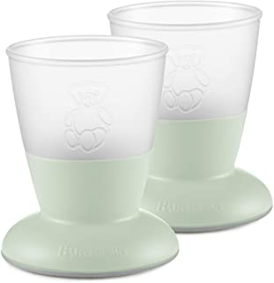 BABYBJÖRN Baby Cup, 2-pack, Powder Green