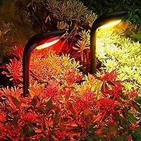 4-Pack Roshwey Solar Landscape Lights