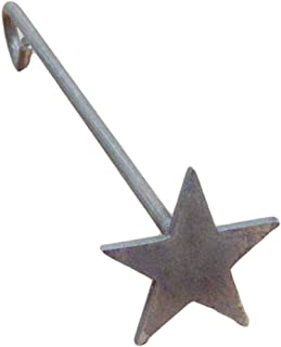 The Leather Guy Branding Iron Standing Steak Brand Solid Star 2 1/2