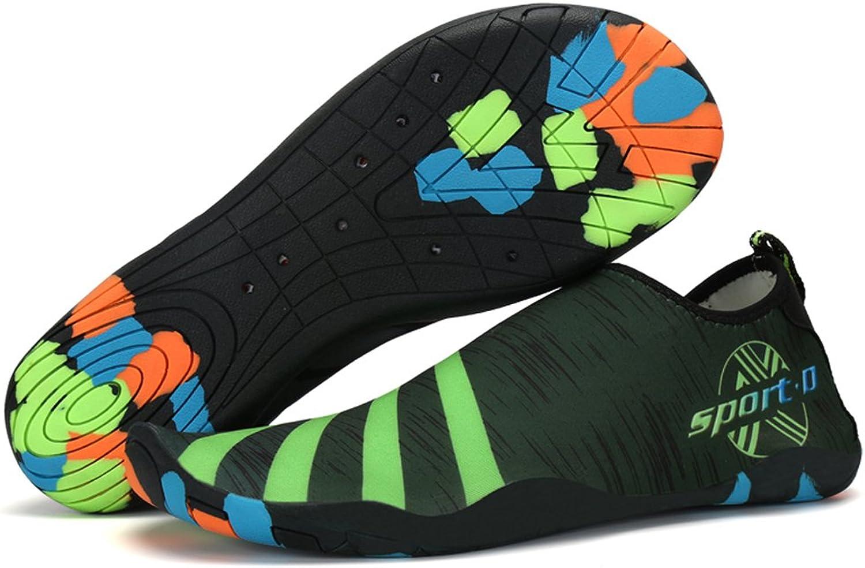 ASLISA Mens Womens Water shoes Beach Swim shoes Slip On Quick Dry Barefoot Aqua Socks for Pool Yoga River