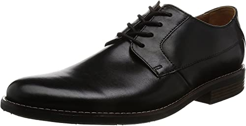 Clarks Men's Becken Plain Leather Clogs and Mules