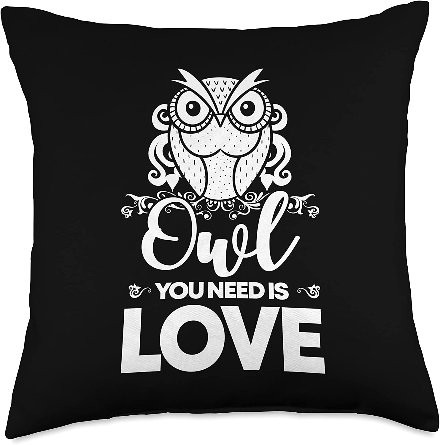 Owl Ranking TOP8 Ranking TOP6 Gifts Lover Need is Love Cute Throw I
