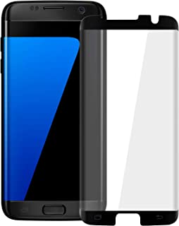 HD Galaxy S7 Edge Screen Protector,Tempered Glass for Samsung Galaxy S7 Edge [3D Full Edge Covered] [9H Hardness] [Anti-Dirty] Case Friendly Glass Protector for Samsung Galaxy S7 Edge