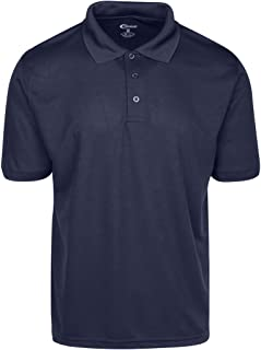 Mens High Moisture Wicking Polo T Shirts