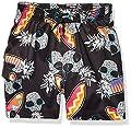 Amazon Brand - Spotted Zebra Kids Boys Swim Board Shorts, Surf Pineapples, Large