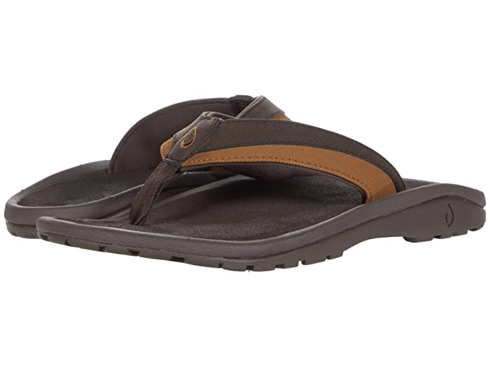 'Ohana Koa  Shoes (Dark Wood/Dark Wood) Men's Sandals