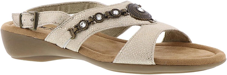 Minnetonka Womens Selene Open Toe Casual Ankle Strap Sandals