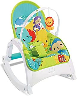TONGSH Deluxe Take-Along Swing & Seat Baby Cradle Electric Recliner Soothing Vibration New-Born Bouncer Comfort Toy Removable Foldable Gift