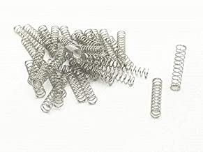 XJS Metal Compression Spring Silver Tone (0.5x5x25mm 50 Pcs)