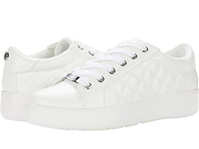 Steve Madden Border Sneaker (White) Women