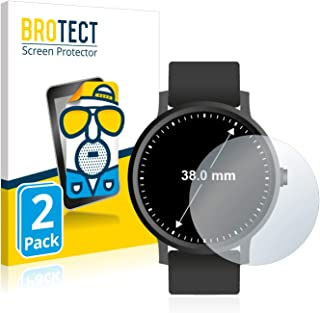 comprar comparacion BROTECT Protector Pantalla Anti-Reflejos Compatible con Relojes (Circular, Diámetro: 38 mm) (2 Unidades) Pelicula Mate Ant...