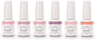 Gelish Mini 9 mL Soak Off Gel 6 Color Nail Polish Set, Spring Petal Collection