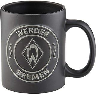 """Werder Bremen Tasse / Becher """"Black"""" WB Fanartikel"""
