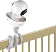 iTODOS Baby Monitor Mount for Motorola Baby Monitor, Arlo Baby Monitor and Most Universal Monitors Camera, Versatile Twist Mount Without Tools or Wall Damage - Gray