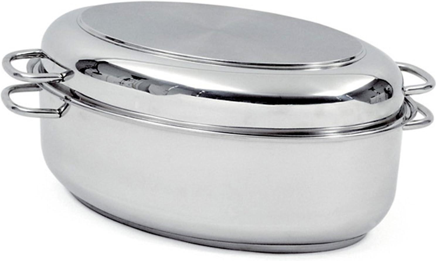 Ranking TOP15 Norpro KRONA Stainless Steel 12-Quart Roaster San Jose Mall Multi Silver
