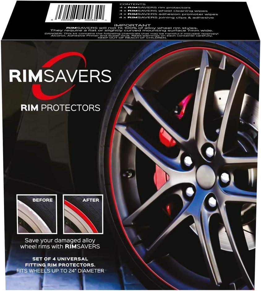 RimSavers Cheap Ranking TOP8 super special price RimBladesUSA Set of 4 Bronze - Alloy Rim Protectors