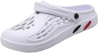Unisex Clogs Slippers Summer Garden Yard Mules Beach Sandals Lightweight Breathable Indoor Outdoor Shoes